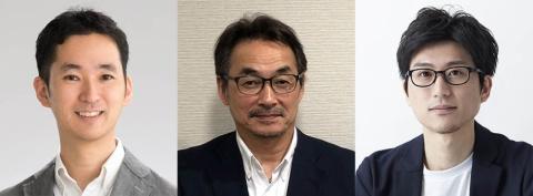 左から日経BP総研デザイン・イノベーションセンター長 丸尾弘志、ニトムズ コンシューマ事業部門部長 小川隆久氏、TAKT PROJECT代表 吉泉聡氏