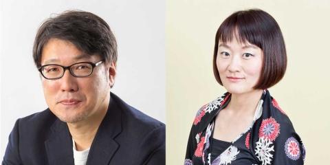 日経クロストレンド・吾妻拓編集長(左)と日経トレンディ・三谷弘美編集長
