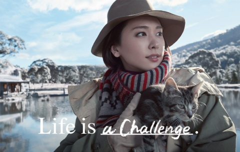 「Life is Challenge」「Life is Sharing」(2016)