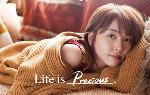 「Life is Precious」「Life is Belief」(2017)