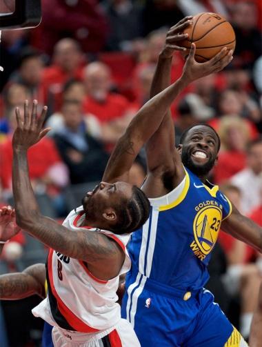 米NBAのゴールデンステート・ウォリアーズはAIチャットボットなど、最新テクノロジーの導入に積極的なことで知られる(写真/AP、アフロ)