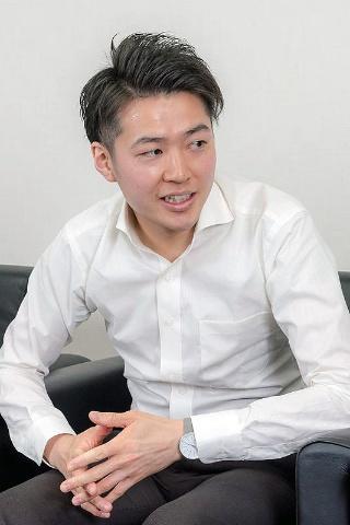 中込光輝さん/ドウシシャ 家電事業部 家電商品ディビジョン アシスタントマネージャー
