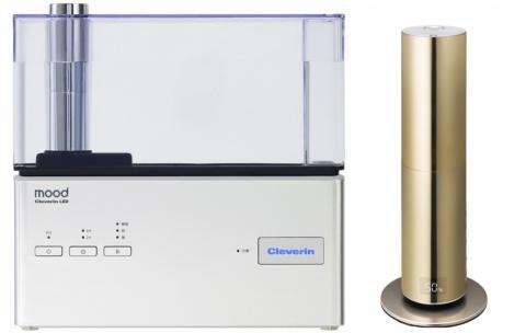 クレベリンLEDを搭載し、二酸化塩素でウイルスや菌の除去が期待できる加湿器