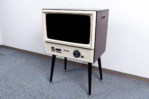 レトロ液晶テレビ「20型 ハイビジョンLED液晶テレビ VT203-BR」