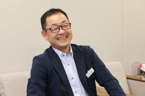中西一浩さん。京阪ホールディングス経営統括室 経営戦略担当