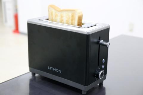 1分かからずトーストが焼ける「秒速トースター」