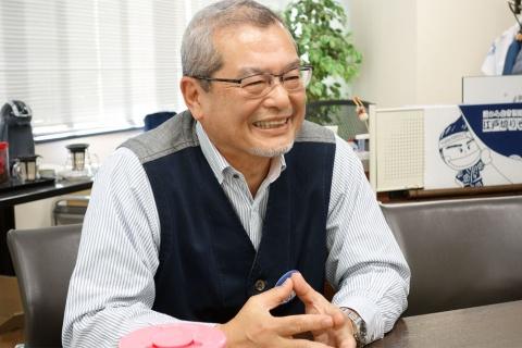ゆで太郎システム池田智昭社長。1957年生まれ。「ほっかほっか亭」のFC経営、本部のスーパーバイザー、取締役を経て、2004年に信越食品が運営するそば店「ゆで太郎」をFC展開するゆで太郎システムを設立(写真/渡貫幹彦)