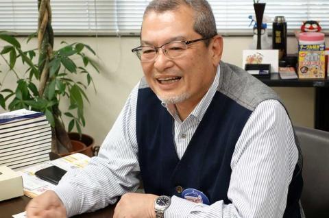 ゆで太郎システム 池田 智昭社長。1957年生まれ。「ほっかほっか亭」のFC経営、本部のスーパーバイザー、取締役を経て、2004年に信越食品が運営するそば店「ゆで太郎」をFC展開するゆで太郎システムを設立(写真/渡貫幹彦)