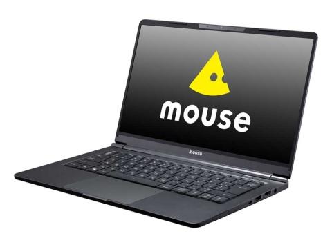 20年は法人向け、コンシューマー向けともに売り上げを大きく伸ばした。画像は20年の売れ筋のひとつ、14型モバイルノート「mouse X4」シリーズ