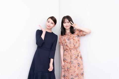 美容クリエイター「元美容部員 和田さん。」(左)