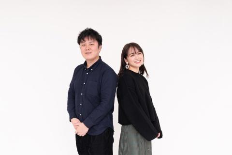 DeNAの水田大輔氏(左)