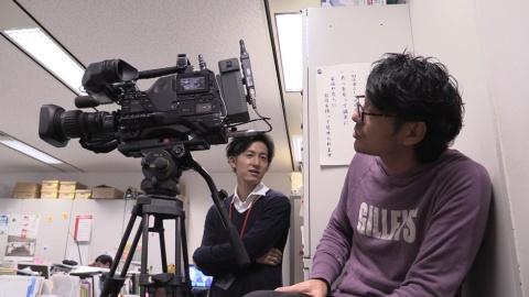 『さよならテレビ』土方ディレクター(左)と中根芳樹カメラマン(右)(C)東海テレビ