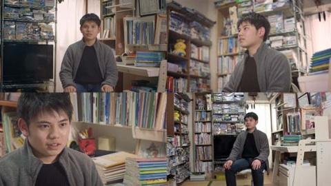 インタビューは複数台のマルチカメラで撮影する(BS1スペシャル『ボクの自学ノート~7年間の小さな大冒険~』より)(C)NHK
