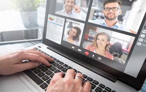 在宅勤務が続くと同僚の顔が恋しくなります ※画像はイメージ(画像提供:REDPIXEL.PL/Shutterstock.com)