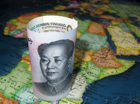 アフリカに積極的に進出する中国のイメージ(写真/Shutterstock)