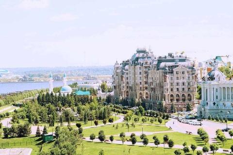 人口120万人、ロシア第3の都市カザン