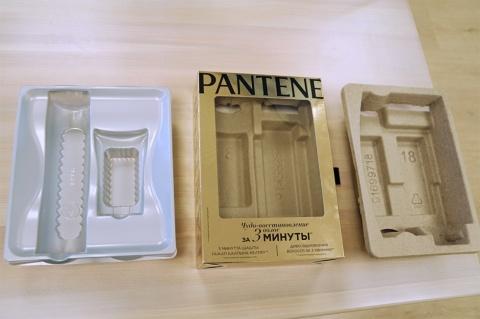 ロシアの「PART Award 2018」を受賞したP&Gのシャンプーのパッケージ