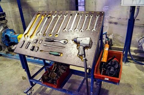 """日本の""""カイゼン""""を取り入れ、工場内での作業も効率化している"""