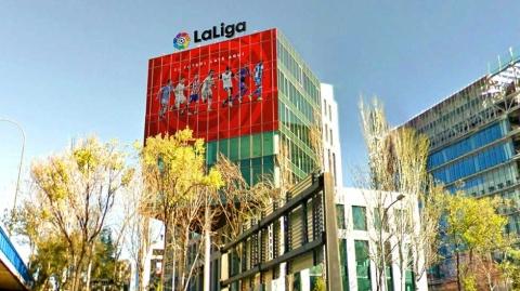 マドリードにあるラ・リーガのオフィス