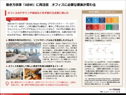 パワポまとめ「アフターコロナの働き方&オフィス改革 事例集」(画像)