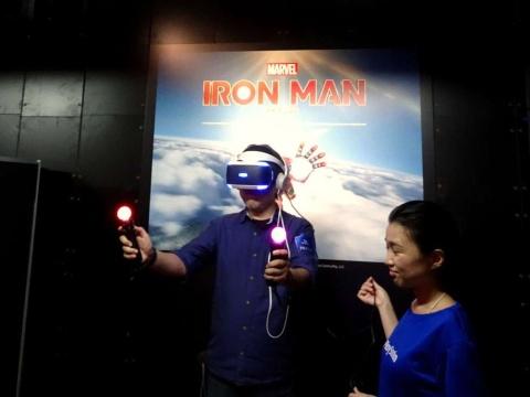 「私がアイアンマンだ」と言ってみたくなる試遊体験