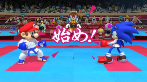 『マリオ&ソニック AT 東京2020オリンピック』では、世界的に大人気のマリオとソニックが夢の競演!! さまざまな競技にチャレンジする