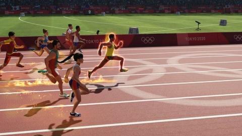 東京2020オリンピック公式ビデオゲームのひとつ、『東京2020オリンピック The Official Video Game』。他の公式2タイトルがコミカルなタッチであるのに対し、本作はリアルなグラフィックでオリンピック競技を楽しめる