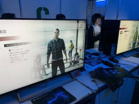 東京ゲームショウ2019の会場では、『プロジェクト レジスタンス』をマルチプレーで試遊できる(C)CAPCOM CO., LTD. ALL RIGHTS RESERVED.