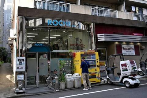 東京・新宿にある衣装製作会社のロッシュのアトリエ兼工房