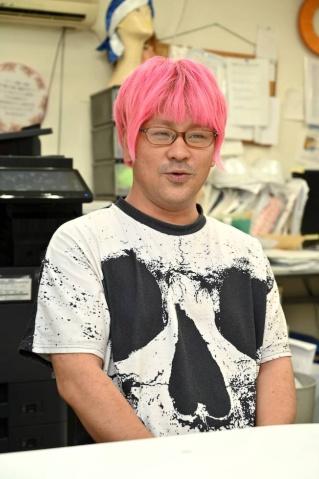 ロッシュのデザイナー・中島一生氏。バンダイナムコは5年以上担当