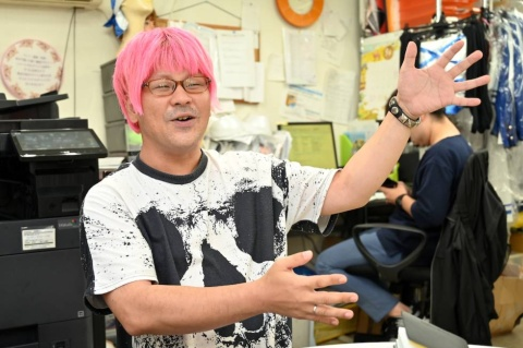 ゲーム会社から衣装デザインの依頼の多いロッシュの中島一生氏