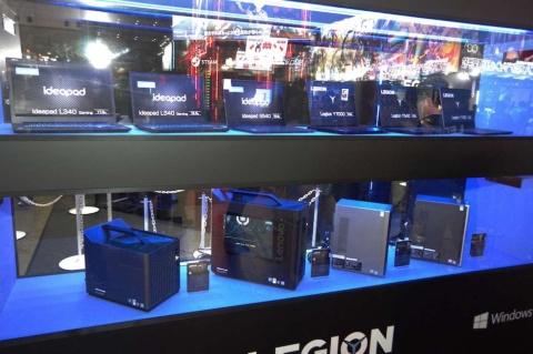 レノボ・ジャパンは「LEGION」ブランドのゲーミングPCを展示