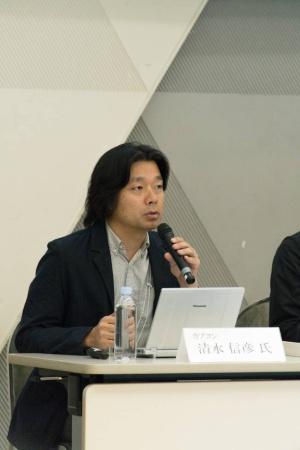 カプコン執行役員グローバルマーケティング統括本部eSports推進統括の清水信彦氏