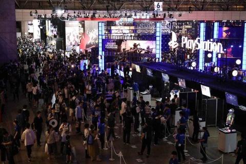 東京ゲームショウ2019、会場の様子