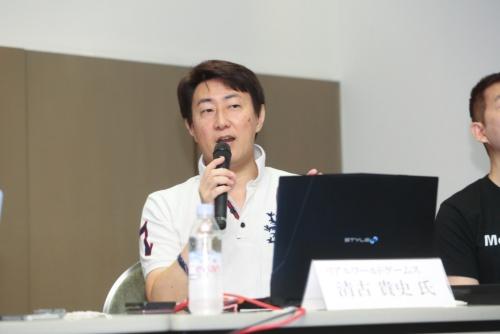 リアルワールドゲームス 代表取締役の清古貴史氏