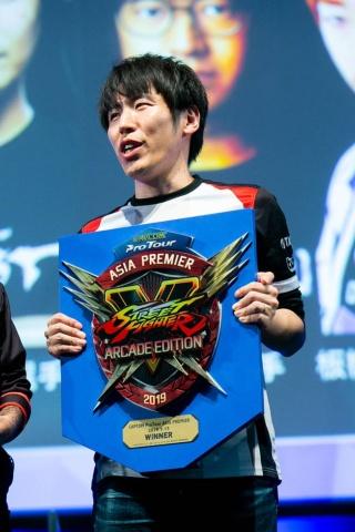 表彰式では、優勝盾と副賞の受賞しか行われなかった