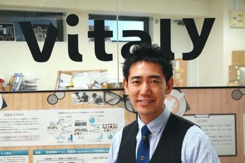 ヴァイタリー代表取締役・循環器内科医の竹田陽介氏