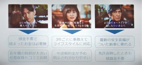 テレビCM「定額なる一族」シリーズでは松田翔太、石橋杏奈、佐藤浩市を起用し、各ターゲットにアピール