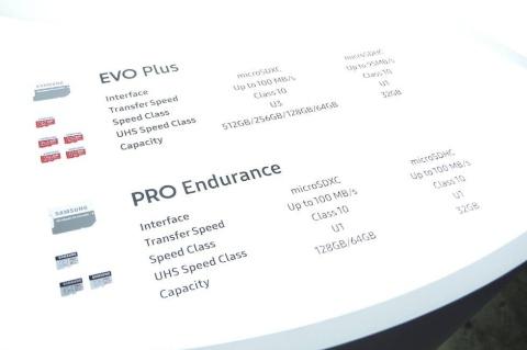 スマートフォンやニンテンドースイッチでは定番の高速microSD「EVO Plus」シリーズ