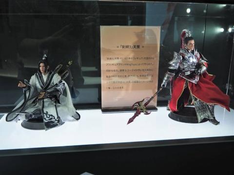 同社の武侠ゲームは中国で人気を得ているようで、フィギュアなどオリジナルグッズも提供されているようだ