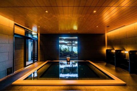大浴場も備える外資系リゾートホテルがオープン(写真提供/ANAインターコンチネンタル別府リゾート)