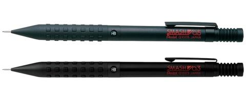 オリジナルのスマッシュ0.5mm(上)と、復刻した0.3mm