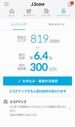J.Scoreが提供するAIスコア・レンディングのイメージ