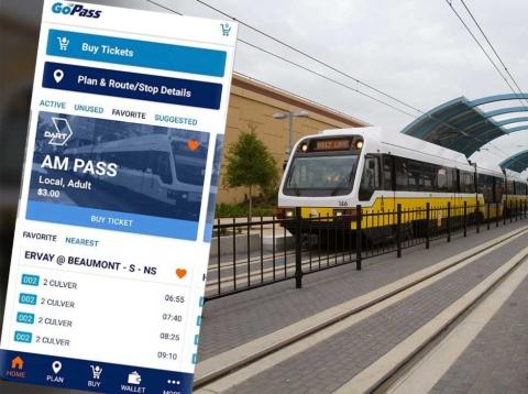 テキサス州のダラスで提供されているMaaSアプリ「GoPass」