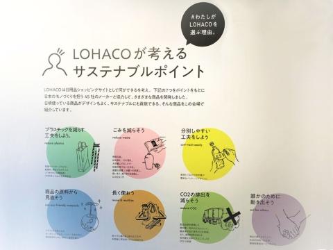 LOHACOが考える「サステナブル」には7つの目標がある