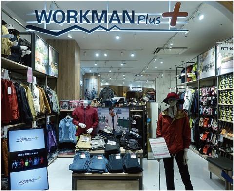 新業態の「ワークマンプラス」。職人向け作業服メーカーというイメージを覆す店づくりで、全国各地で大行列をもたらした
