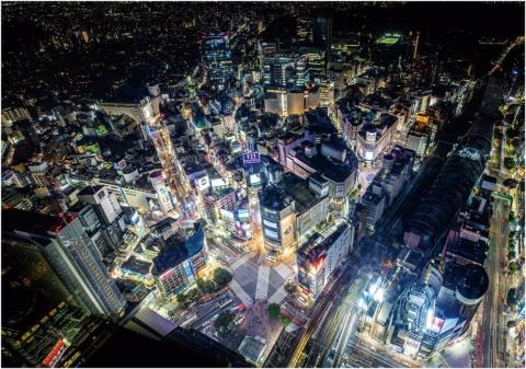 SHIBUYA SKYから眺めた光景(写真/小西範和)