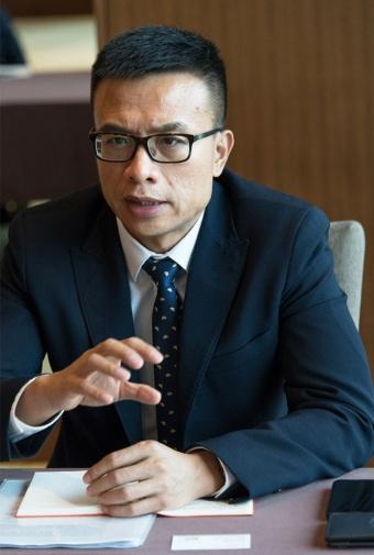 アリババ集団で天猫輸出入事業部総経理を務める劉鵬(Liu Peng)氏