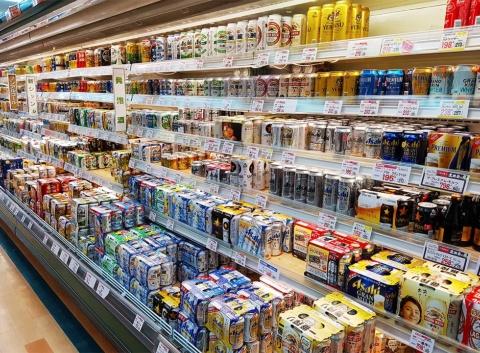 ビーコンと組み合わせることで、スーパーの商品棚が顧客コミュニケーションの入り口になる(写真/Shutterstock)