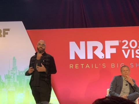 NRF2020に登壇した米ショーフィールズのタル・ズヴィ・ナサネルCEO(最高経営責任者)